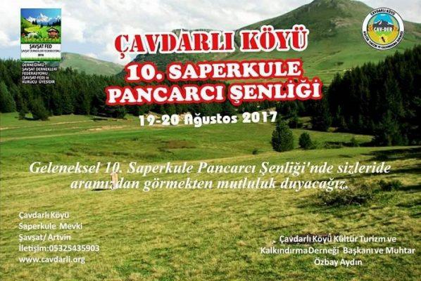 10.SAPERKULE PANCARCI ŞENLİĞİ